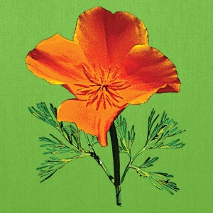 Orange California Poppy Bags & backpacks - Tote Bag