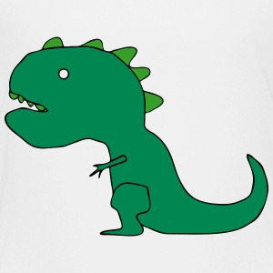 T-Rex Dinosaur Cartoon Drawing Baby & Toddler Shirts - Toddler Premium T-Shirt