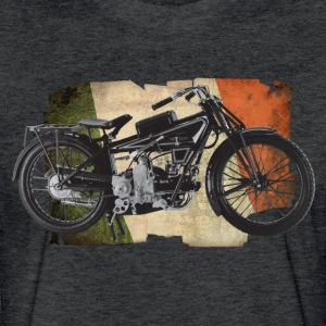 Italian Motorbike - Fitted Cotton/Poly T-Shirt by Next Level