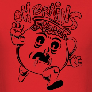 Oh Brains - Men's T-Shirt