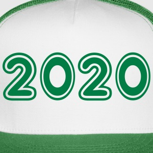 2020, Numbers, Year, Year Of Birth Sportswear - Trucker Cap