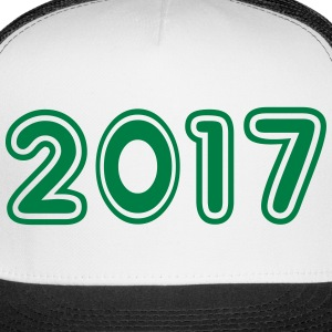 2017, Numbers, Year, Year Of Birth Sportswear - Trucker Cap