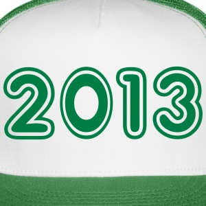 2013, Numbers, Year, Year Of Birth Sportswear - Trucker Cap