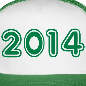 2014, Numbers, Year, Year Of Birth Sportswear - Trucker Cap