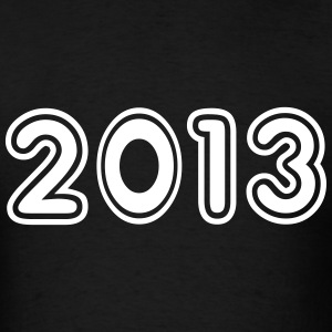 2013, Numbers, Year, Year Of Birth T-Shirts - Men's T-Shirt