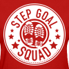 Step Goal Squad #1 Reverse Design - Women's T-Shirt