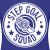 Step Goal Squad #2 Reverse Design - Plus Sized - Women's Premium T-Shirt