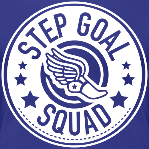 Step Goal Squad #1 Logo