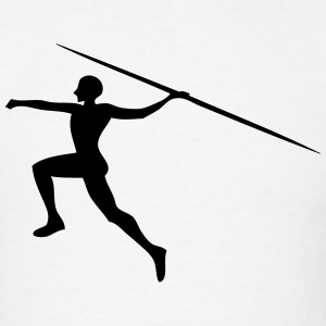 Javelin Throwing / Spear Throw T-Shirts - Men's T-Shirt