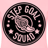 Step Goal Squad #1 Design - Plus Sized - Women's Premium T-Shirt