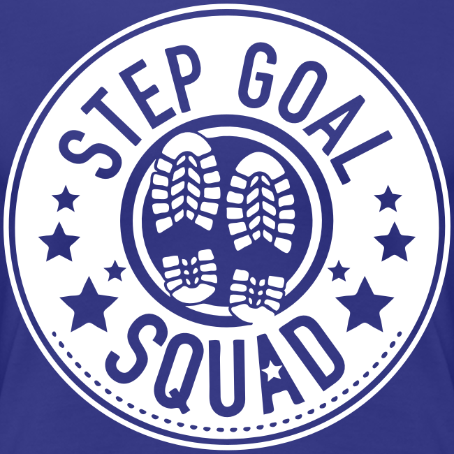 Step Goal Squad #1 Reverse Design - Plus Sized Womens