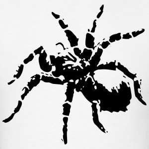 Threatened Spider (Silhouette) T-Shirts - Men's T-Shirt