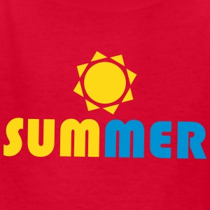 SUMMER Sun Kids' Shirts - Kids' T-Shirt