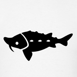 Sturgeon Silhouette T-Shirts - Men's T-Shirt