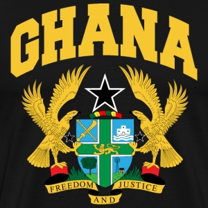 Ghana Coat Of Arms T-Shirt - Men's Premium T-Shirt