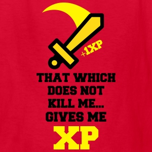RPG Quote That Which Does Not Kill Me Gives XP Kids' Shirts - Kids' T-Shirt