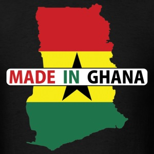 Made In Ghana Ghana Flag Map T-Shirt - Men's T-Shirt