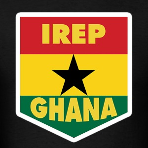 I Rep Ghana Ghana Flag T-Shirt - Men's T-Shirt