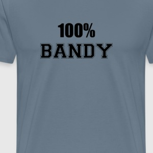 100% bandy T-Shirts - Men's Premium T-Shirt