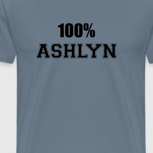 100% ashlyn T-Shirts - Men's Premium T-Shirt