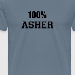 100% asher T-Shirts - Men's Premium T-Shirt