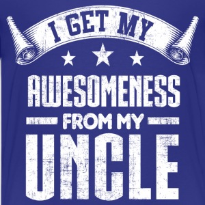 Awesomeness From My Uncle Kids' Shirts - Kids' Premium T-Shirt
