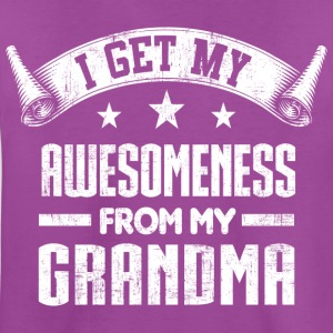 Awesomeness From Grandma Kids' Shirts - Kids' Premium T-Shirt
