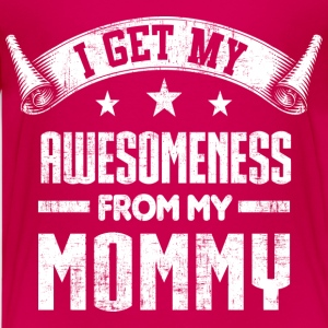 Awesomeness From My Mommy Kids' Shirts - Kids' Premium T-Shirt