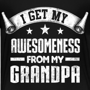 Awesomeness From Grandpa Kids' Shirts - Kids' Premium T-Shirt