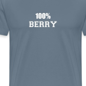 100% berry T-Shirts - Men's Premium T-Shirt