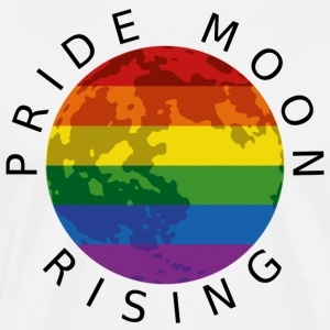 Pride Moon Rising - Black T-Shirts - Men's Premium T-Shirt
