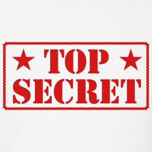 TOP SECRET T-Shirts - Men's T-Shirt