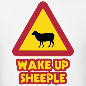 WAKE UP SHEEPLE T-Shirts - Men's T-Shirt