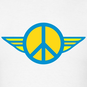 Peace Sign Wings T-Shirts - Men's T-Shirt