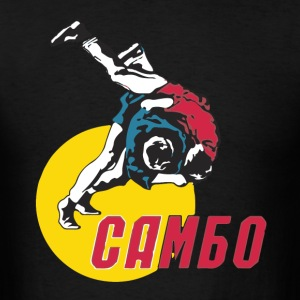 Sambo Russian Sport - Men's T-Shirt