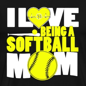 Softball Mom Shirt - Men's Premium T-Shirt