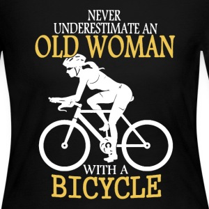 Old Man Bicycle Shirt - Women's Long Sleeve Jersey T-Shirt