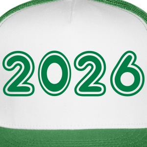 2026, Numbers, Year, Year Of Birth Sportswear - Trucker Cap