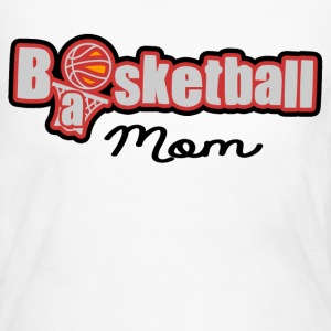 BASKETBALL MOM - Women's Long Sleeve Jersey T-Shirt
