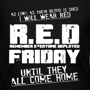 Red Friday Shirt - Women's Long Sleeve Jersey T-Shirt