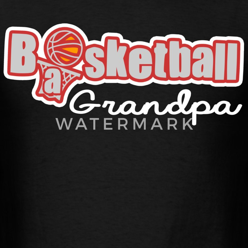 BASKETBALL GRANDPA - Men's T-Shirt