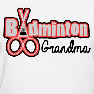 BADMINTON GRANDMA - Women's T-Shirt