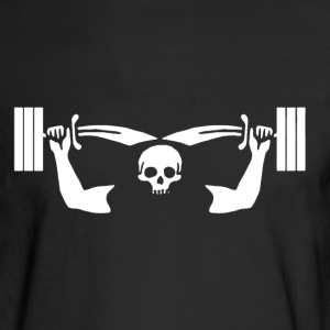 Barbell Shirt - Men's Long Sleeve T-Shirt