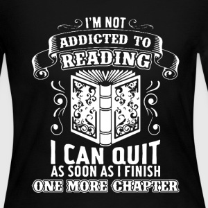 Addicted To Reading Shirt - Women's Long Sleeve Jersey T-Shirt