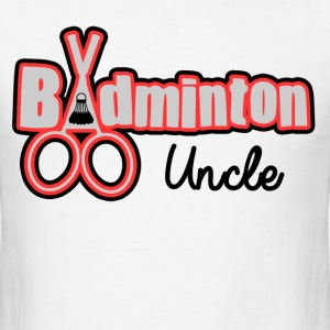 BADMINTON UNCLE - Men's T-Shirt