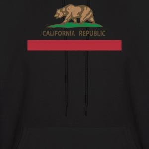CALIFORNIA REPUBLIC FLAG - Men's Hoodie