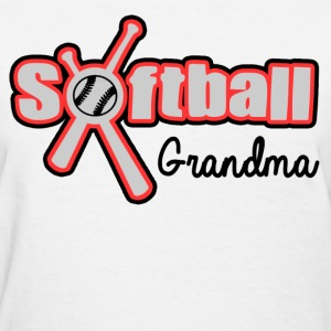 SOFTBALL GRANDMA - Women's T-Shirt