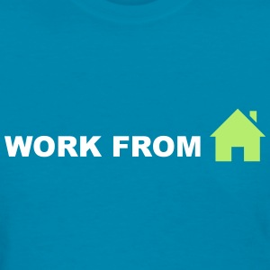 Work From Home (Symbol) T-Shirts - Women's T-Shirt