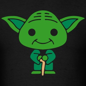 Cute Little Yoda T-Shirts - Men's T-Shirt