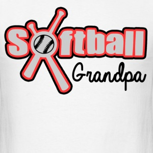 SOFTBALL GRANDPA - Men's T-Shirt